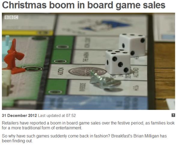 BBC Report 31/12/12