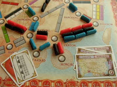 Ticket to Ride - Team Asia