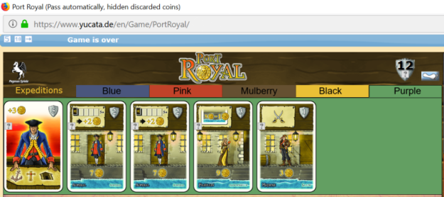 Port Royal on yucata.de