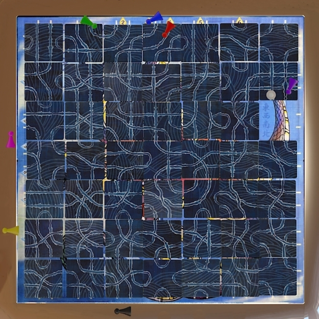 Tsuro on Tabletop Simulator