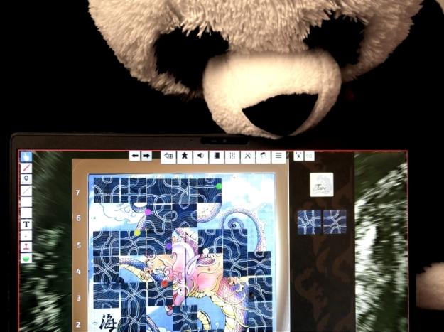 Tsuro on Tabletop Simulator