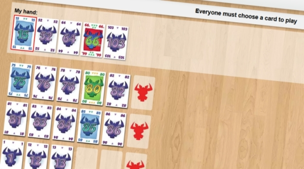 6 Nimmt! on Board Game Arena