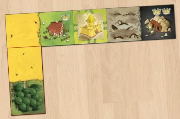 Kingdomino on Board Game Arena