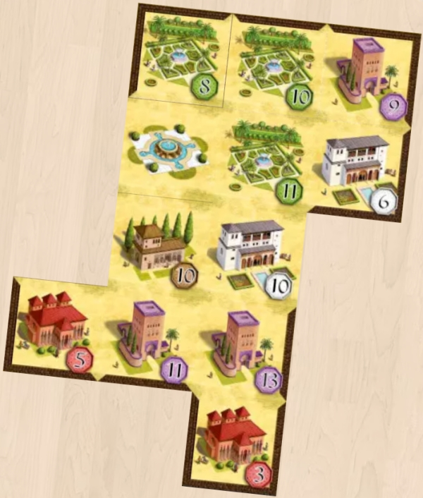 Alhambra on Board Game Arena