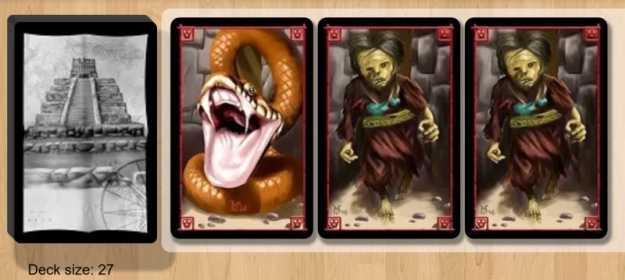 Incan Gold on Board Game Arena