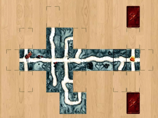 Saboteur on Board Game Arena