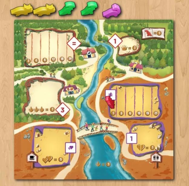 Draftosaurus on Board Game Arena