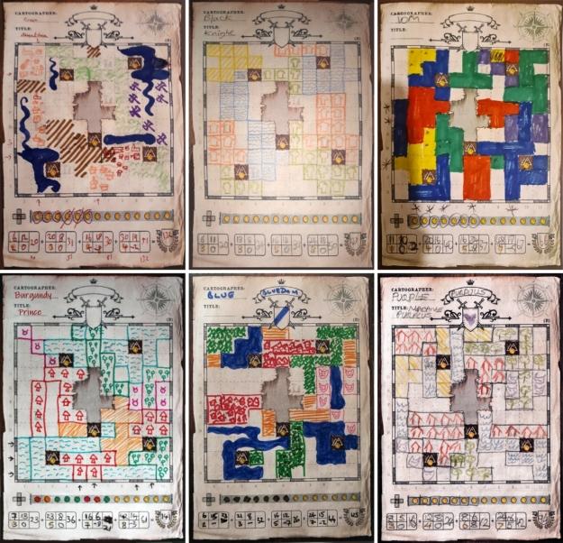 Cartographers: Skills Mini Expansion